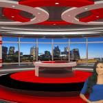 Virtual Set Red Studio